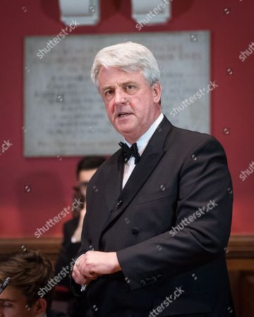 Editorial image of Lord Andrew Lansley at The Oxford Union, UK - 13 Oct 2016