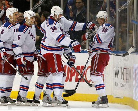 Editorial photo of Rangers Islanders Hockey, Uniondale, USA