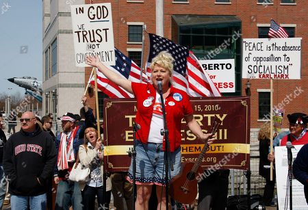 Victoria Jackson Victoria Jackson speaks during a tea party rally in Buffalo, N.Y