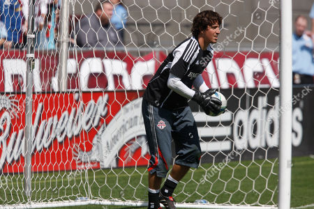 Jon Conway Toronto FC goalie Jon Conway warms up before facing the Colorado Rapids in the first half of an MLS soccer game in Commerce City, Colo., on