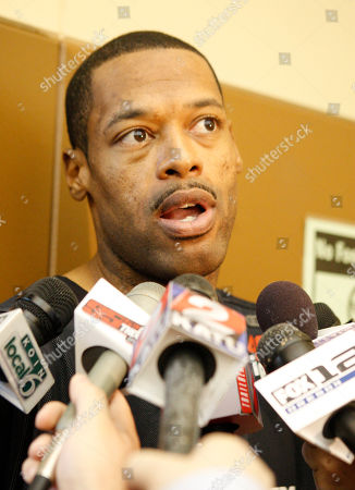 Marcus Camby Portland Trail Blazers Marcus Camby talks with reporters following basketball practice, in Tualatin, Ore. The Trail Blazers return to the comforts of home after a lopsided loss to the Phoenix Suns that evened the first-round playoff series to one game apiece