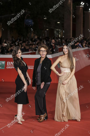 Editorial image of 'Sole Cuore Amore' premiere, Rome Film Festival, Italy - 15 Oct 2016