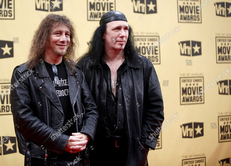 Robb Reiner, Steve Kudlow Musicians Robb Reiner, left, and Steve 'Lips' Kudlow of the band Anvil at the 15th Annual Critics Choice Movie Awards, in Los Angeles