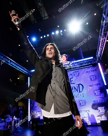"""Nathaniel Motte Nathaniel Motte, of the group 3OH!3, performs at the Great Big Ultimate Fan Event celebrating the upcoming film """"Alice in Wonderland"""" in Los Angeles on"""