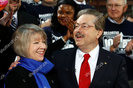Terry Branstad Former Iowa Gov. Terry Branstad speaks to supporters as he stands with his wife Chris while announcing his bid for the Republican nomination for governor, in Des Moines, Iowa. Branstad formally entered the race on Tuesday after exploring the potential of seeking a return to office for months