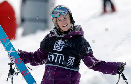 Sarah Burke Sarah Burke, of Canada, reacts after failing to place in the top-three finishers in the slopestyle skiing women's final at the Winter X Games at Buttermilk Mountain outside Aspen, Colo. It's been just over a year since the Canadian freestyle icon's death following a training accident on a halfpipe in Utah. Her friends still half expect her name to be called at Winter X Games and for her to drop in for an amazing run