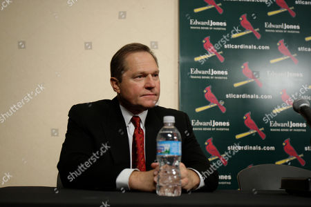 Stock Photo of Scott Boras Sports agent Scott Boras listens as one of his clients, St. Louis Cardinals outfielder Matt Holliday, speaks during a news conference, in St. Louis. Holliday has reportedly agreed to a $120 million, seven-year contract with the Cardinals after being dealt to the Redbirds from Oakland last season