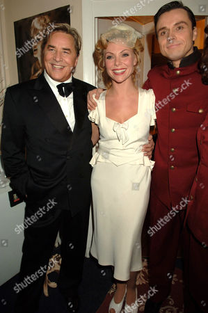 Don Johnson's first time playing Nathan Detroit. Don Johnson with Samantha Janus and Norman Bowman