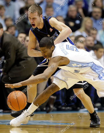 Editorial image of Duke NCarolina Basketball, Chapel Hill, USA