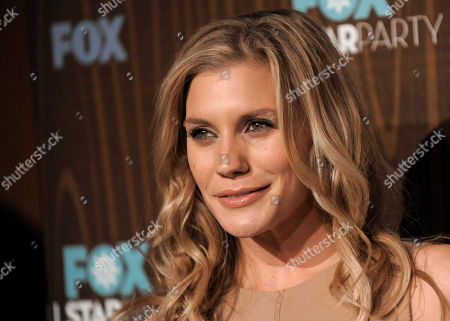 Stock Image of Katee Sackoff Katee Sackoff arrives at the FOX Winter All-Star Party in Pasadena, Calif