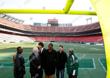 Editorial photo of Giants Stadium Sale Football, East Rutherford, USA