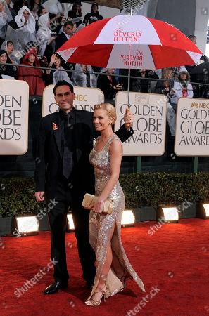 Jaime Pressley, Simran Singh Jaime Pressley and Simran Singh arrive at the 67th Annual Golden Globe Awards, in Beverly Hills, Calif