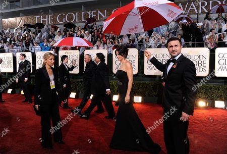 Courtney Cox Arquette, David Arquette Courtney Cox Arquette and David Arquette at the 67th Annual Golden Globe Awards, in Beverly Hills, Calif
