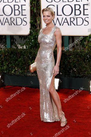 Stock Image of Jaime Pressley Jamie Pressley arrives at the 67th Annual Golden Globe Awards, in Beverly Hills, Calif