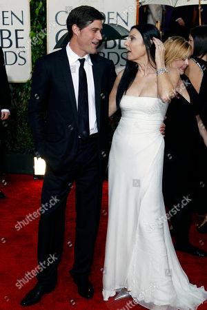 Matthew Fox, Margherita Ronchi Matthew Fox and Margherita Ronchi arrive at the 67th Annual Golden Globe Awards, in Beverly Hills, Calif