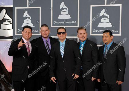 El Guero y Su Banda Centenario El Guero y Su Banda Centenario arrives at the Grammy Awards, in Los Angeles