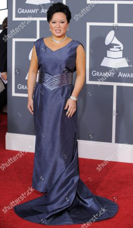 Angelin Chang Angelin Chang arrives at the Grammy Awards, in Los Angeles