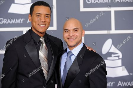 Ron Markham, Irvin Mayfield Ron Markham, left, and Irvin Mayfield arrive at the Grammy Awards, in Los Angeles
