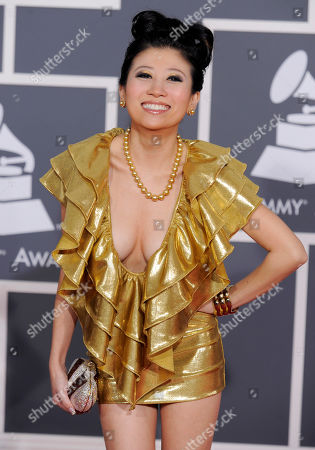 Adrienne Lau Adrienne Lau arrives at the Grammy Awards, in Los Angeles
