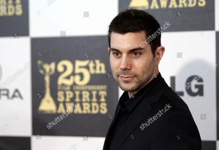 Micah Sloat Micah Sloat arrives at the Independent Spirit Awards, in Los Angeles