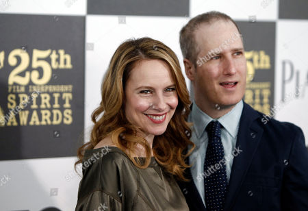 Amy Ryan, Eric Slovin Amy Ryan and Eric Slovin arrive at the Independent Spirit Awards, in Los Angeles