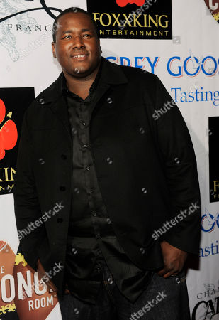 Quinton Aaron Quinton Aaron arrives for the Jamie Foxx Post Grammy Celebration at The Conga Room in Los Angeles