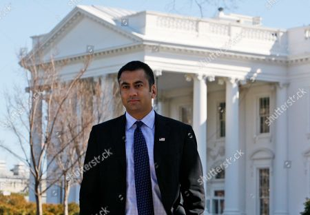 Stock Image of Kal Penn Actor Kalpen Suresh Modi, best known by his stage name Kal Penn, who is Associate Director of the White House Office of Public Engagement, is seen in front of the White House in Washington