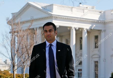 """Kal Penn Actor Kalpen Suresh Modi, best known by his stage name Kal Penn who starred in the """"Harold and Kumar"""" movies, who is Associate Director of the White House Office of Public Engagement, is seen in front of the White House in Washington"""