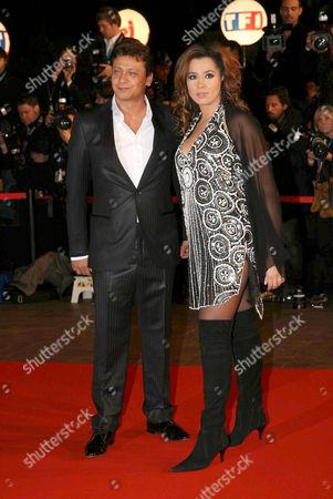 Chimene Badi and Valery Zeitoun