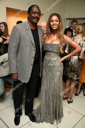 Beyonce Knowles and father Mathew Knowles
