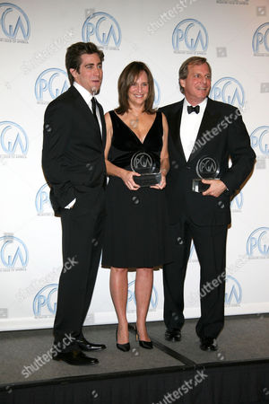 Jake Gyllenhaal, Lucy Fisher and Douglas Wick