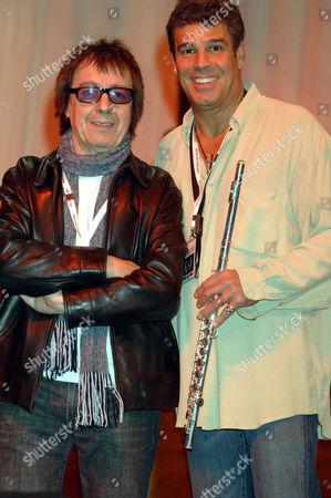 Bill Wyman and Mark Rivera