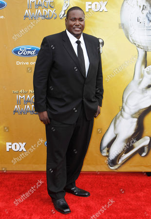 Quinton Aaron Quinton Aaron arrives at the 41st NAACP Image Awards, in Los Angeles