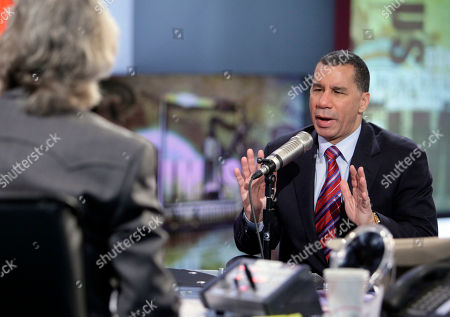 "David Paterson, Don Imus New York Gov. David Paterson, right, is interviewed by Don Imus on the ""Imus in the Morning"" program on the Fox Business Network, in New York . Paterson spoke after several days of rumors sweeping the state Capitol about carousing in the governor's mansion, all of which Paterson strongly denied"