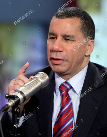 "David Paterson New York Gov. David Paterson is interviewed by Don Imus on the ""Imus in the Morning"" program on the Fox Business Network, in New York . Paterson spoke after several days of rumors sweeping the state Capitol about carousing in the governor's mansion, all of which Paterson strongly denied"