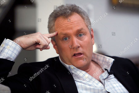 Andrew Breitbart Conservative media publisher and activist Andrew Breitbart is seen during an interview with the Associated Press at his home in Los Angeles. Breitbart, who was behind investigations that led to the resignations of former Rep. Anthony Weiner and former Agriculture Department official Shirley Sherrod, died in Los Angeles. He was 43