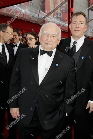 Ed Asner, MAtthew Asner Actor Ed Asner, left, and son Matthew arrive at the 82nd Academy Awards, in the Hollywood section of Los Angeles