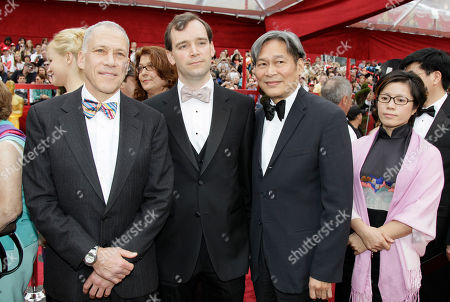Jon Alpert, Matthew O'Neill, Peter Kwong, Michelle Mi From left, Director and Producer Jon Alpert and Matthew O'Neill are seen with Directors Peter Kwong and Michelle Mi as they arrive at the 82nd Academy Awards, in the Hollywood section of Los Angeles
