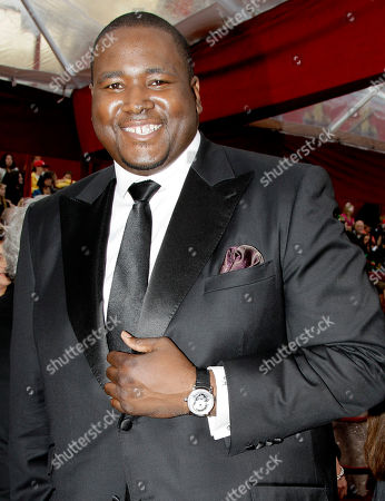 Stock Photo of Quinton Aaron Quinton Aaron arrives at the 82nd Academy Awards, in the Hollywood section of Los Angeles