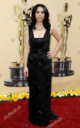 """Rebecca Cammisa Director Rebecca Cammisa of the documentary film, """"Which Way Home"""" arrives during the 82nd Academy Awards, in the Hollywood section of Los Angeles"""