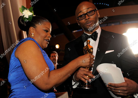 Mo'Nique; Sidney Hicks Oscar winner Mo'Nique and her husband Sidney Hicks the Governors Ball following the the 82nd Academy Awards, in the Hollywood section of Los Angeles