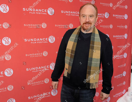 """Stock Image of Louis C.K Comedian Louis C.K. poses at the premiere of his film """"Louis C.K.: Hilarious"""" at the Sundance Film Festival in Park City, Utah. C.K. on said that acting with Ursula Parker, who plays his young daughter Jane, is one of the hardest parts of his job"""