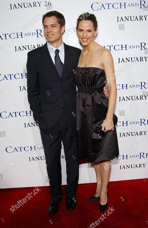 Tim Olyphant and Jennifer Garner