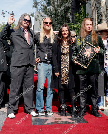 Barbara Orbison, Alex Orbison, Roy Orbison, Westly Orbison Roy Orbison family members, from left, Westly Orbison, Alex Orbison, Barbara Orbison and Roy Orbison gather as the late Roy Orbison is honored with a star on the Hollywood Walk of Fame, in the Hollywood Section of Los Angeles