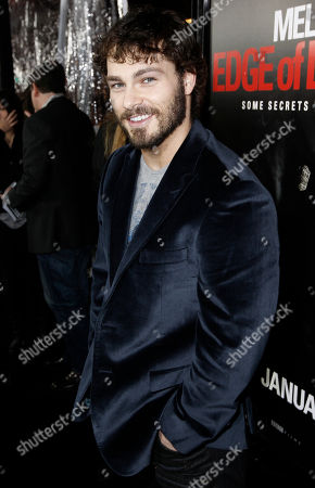 """Shawn Roberts Shawn Roberts arrives at the premiere of """"Edge of Darkness"""" in Los Angeles on"""