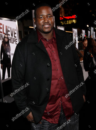 """Quinton Aaron Quinton Aaron arrives at the premiere of """"The Book of Eli"""" in Los Angeles on"""