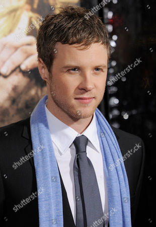 """Ashton Holmes Ashton Holmes, a cast member in """"The Pacific,"""" poses at the premiere of the ten-part HBO miniseries in Los Angeles"""