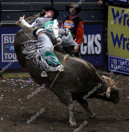 Editorial photo of Professional Bull Riders, New York, USA