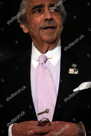"Charles B. Rangel U.S. Rep. Charles B. Rangel speaks at an event sponsored by ""Strive"" in the Harlem neighborhood of Manhattan, in New York"