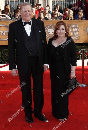 Ken Howard, Linda Fetters Ken Howard, left, and Linda Fetters arrive at the 16th Annual Screen Actors Guild Awards, in Los Angeles